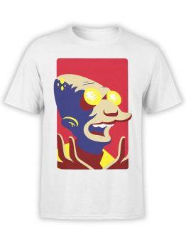 1183 Futurama T Shirt Professor Farnsworth Front