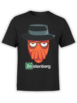1187 Futurama T Shirt Zo Front