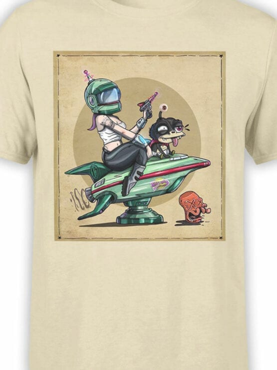 1188 Futurama T Shirt Poster Front Color
