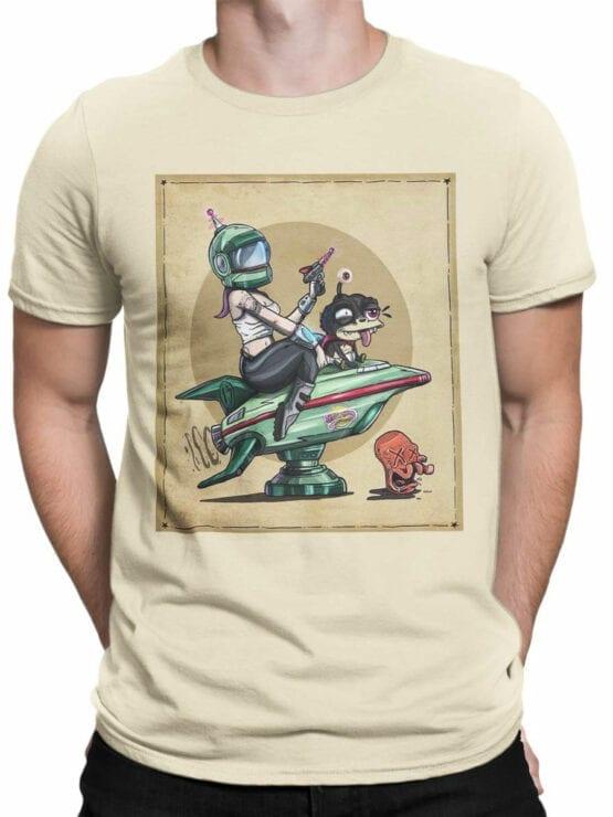 1188 Futurama T Shirt Poster Front Man
