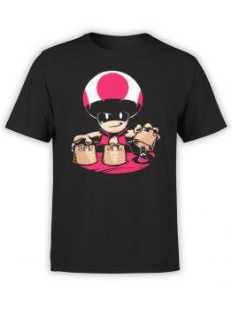1202 Super Mario T Shirt Thimblerig Front