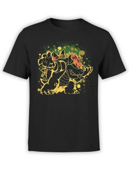 1206 Super Mario T Shirt Night Front