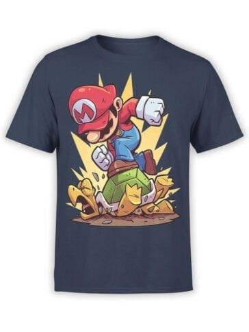 1210 Super Mario T Shirt Revenge Front