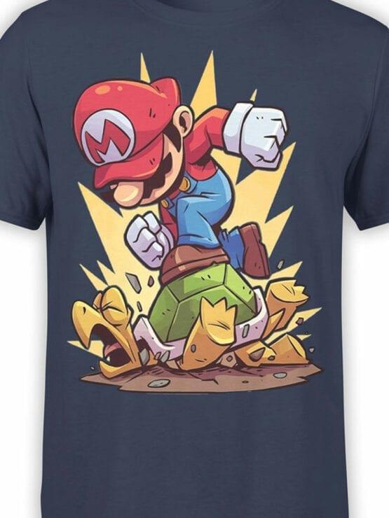 1210 Super Mario T Shirt Revenge Front Color