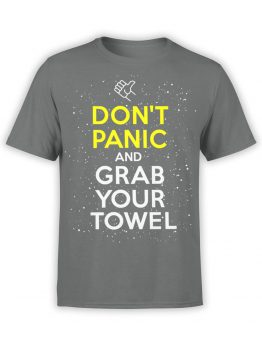 1212 The Hitchhikers Guide to the Galaxy T Shirt Towel Front