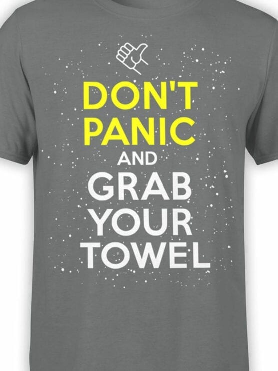 1212 The Hitchhikers Guide to the Galaxy T Shirt Towel Front Color