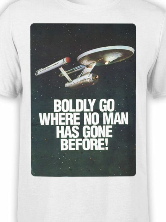 41195 Star Trek T Shirt Poster Front Color