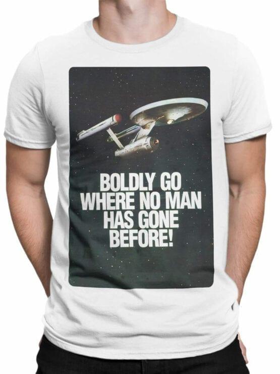 41195 Star Trek T Shirt Poster Front Man