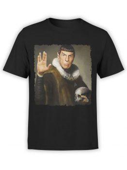 41196 Star Trek T Shirt Spock Hamlet Front