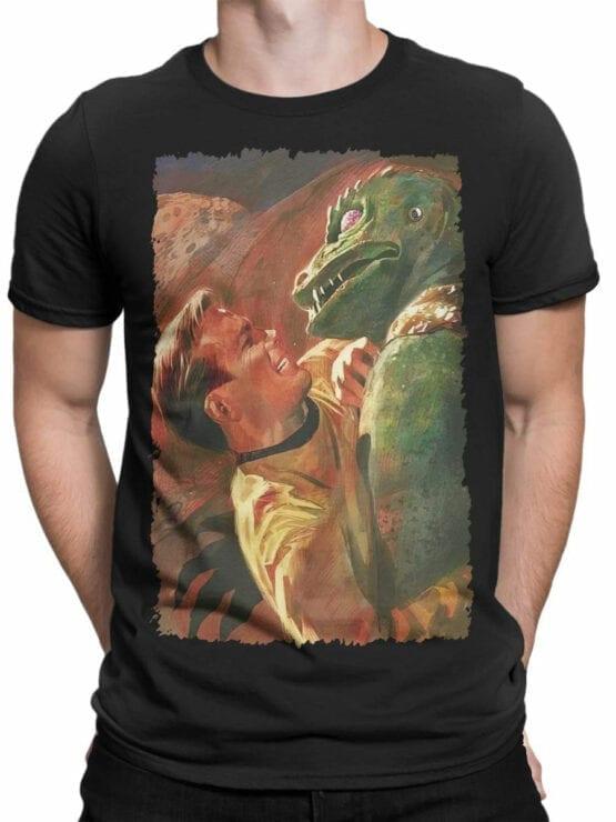 41198 Star Trek T Shirt Battle Front Man