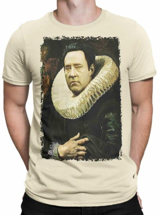 41199 Star Trek T Shirt Data Portrait Front Man