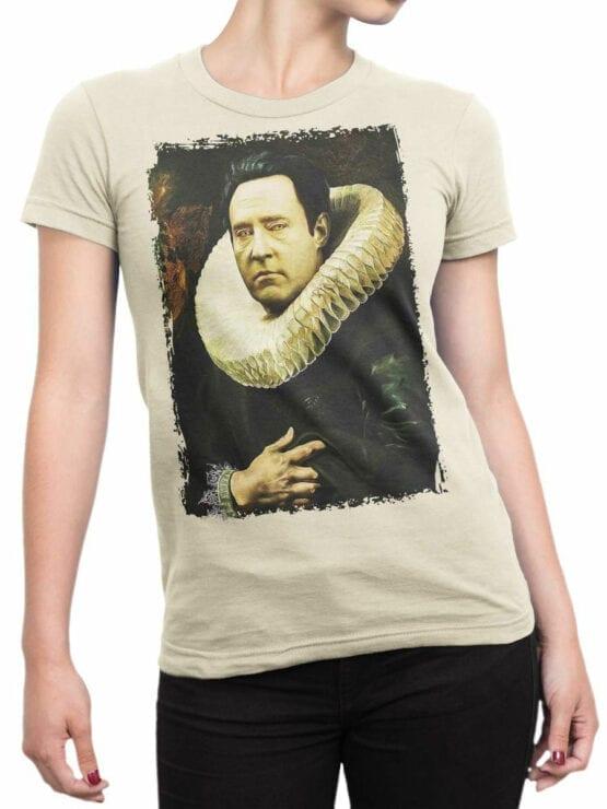 41199 Star Trek T Shirt Data Portrait Front Woman