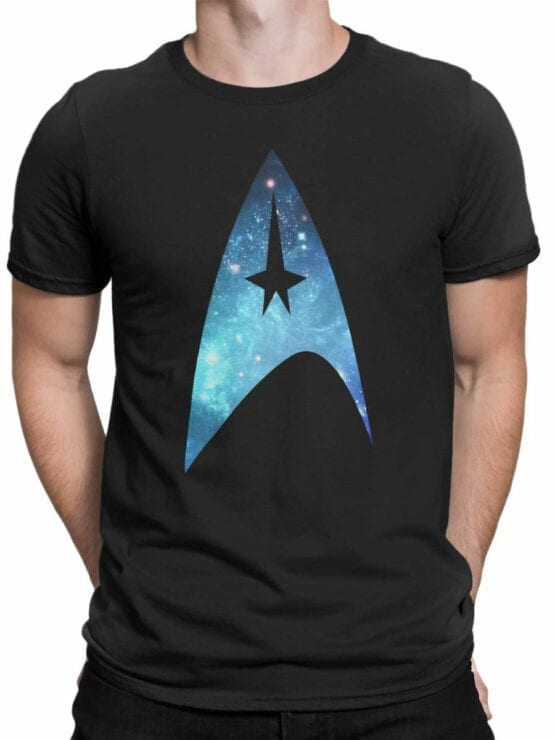 41200 Star Trek T Shirt Logo Front Man