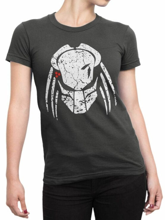 Alien T-Shirt Front Woman