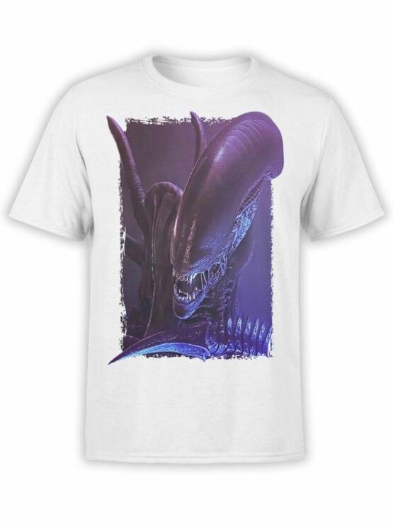 1223 Alien T Shirt Danger Front