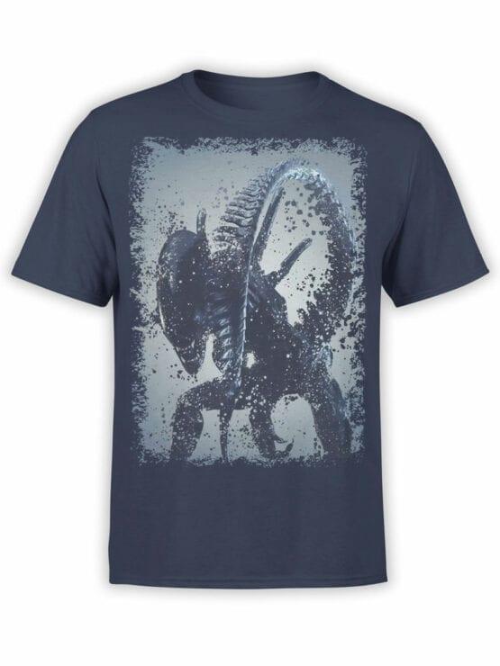 1229 Alien T Shirt Tail Front