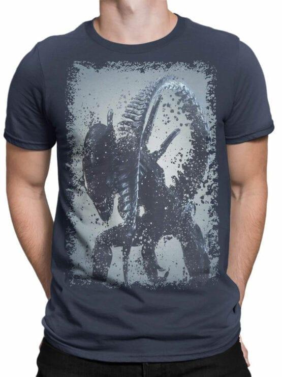 1229 Alien T Shirt Tail Front Man