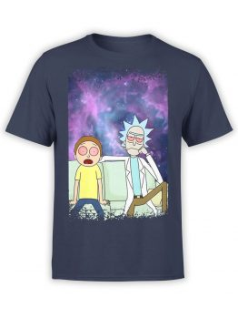 1233 Rick and Morty T Shirt Relax Front