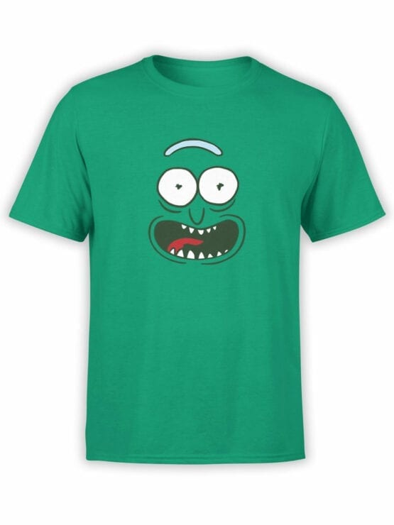 1240 Rick and Morty T Shirt Pickle Front