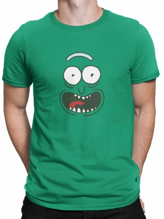 1240 Rick and Morty T Shirt Pickle Front Man
