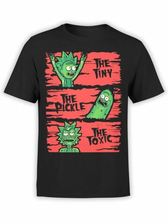 1245 Rick and Morty T Shirt TPT Front