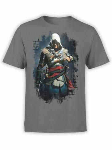 1252 Assassin's Creed T Shirt Danger Front
