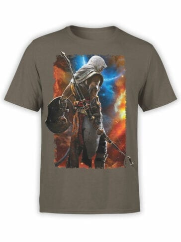 1256 Assassin's Creed T Shirt Moon Front