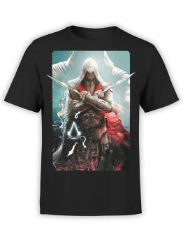 1257 Assassin's Creed T Shirt X Front