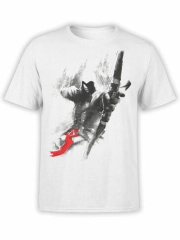 1258 Assassin's Creed T Shirt Archer Front