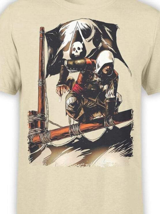 1260 Assassin's Creed T Shirt Pirates Front Color