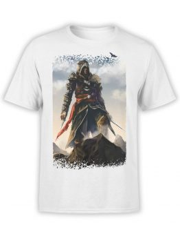 1261 Assassin's Creed T Shirt Mountains Front