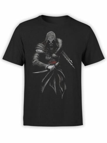 1262 Assassin's Creed T Shirt Killer Front
