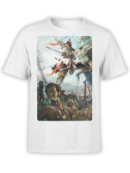 1263 Assassin's Creed T Shirt Jump Front