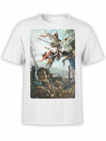 1263 Assassin's Creed T Shirt Jump Front