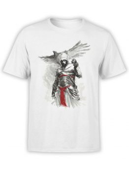 1264 Assassin's Creed T Shirt Eagle Front