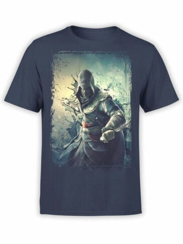 1265 Assassin's Creed T Shirt Attack Front