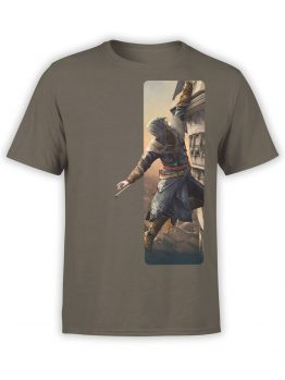 1266 Assassin's Creed T Shirt Climbing Front