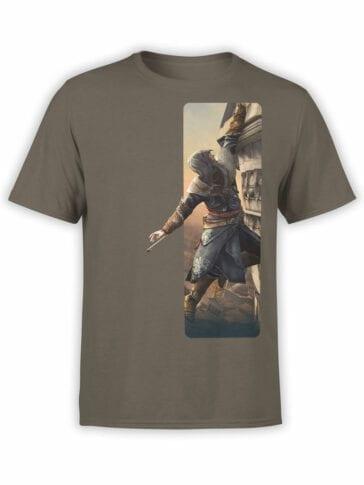 1266 Assassin's Creed T Shirt Climbing Front
