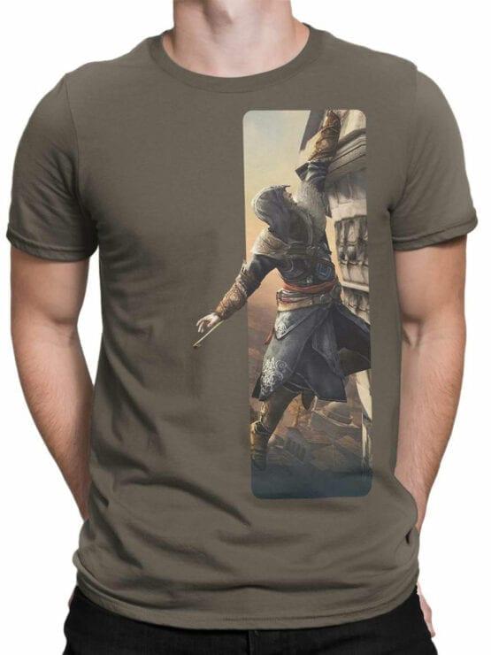1266 Assassin's Creed T Shirt Climbing Front Man