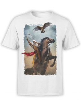 1266 Assassin's Creed T Shirt Rider Front