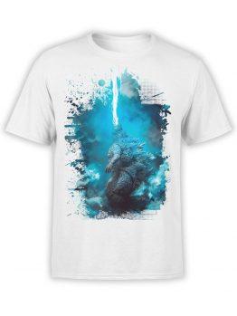 1268 Godzilla T Shirt Thunder Front