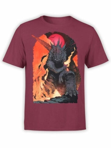 1270 Godzilla T Shirt Destruction Front
