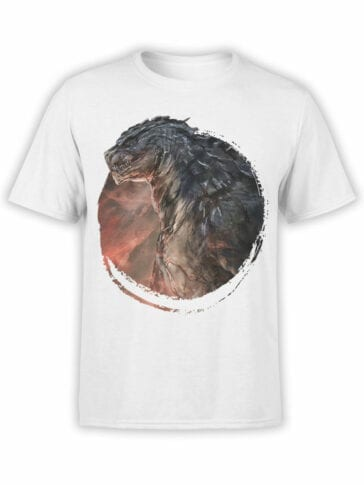 1271 Godzilla T Shirt Power Front
