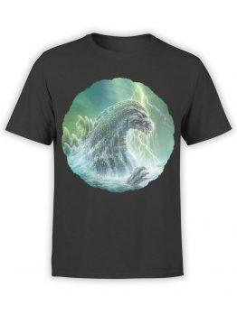 1276 Godzilla T Shirt Sea Front