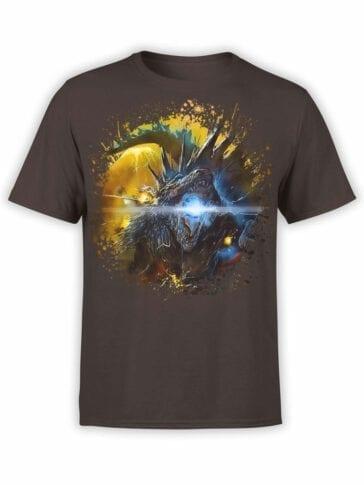 1279 Godzilla T Shirt Roar Front