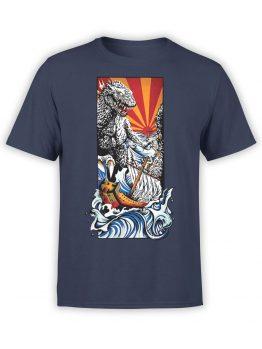 1280 Godzilla T Shirt Poster Front