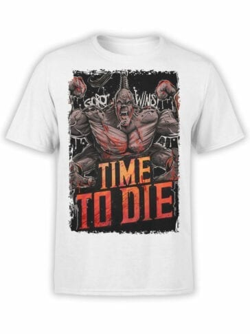 1287 Mortal Kombat T Shirt Die Front