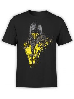 1288 Mortal Kombat T Shirt Shadow Front
