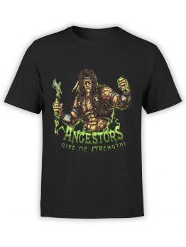 1289 Mortal Kombat T Shirt Nightwolf Front