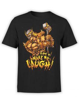 1290 Mortal Kombat T Shirt Laugh Front